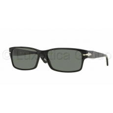Persol PO2803S 95/58 BLACK CRYSTAL GREEN POLARIZED napszemüveg (PO2803S__95_58)