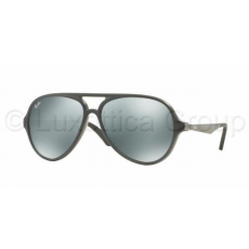 Ray-Ban RB4235 618740 MATTE GREY GREEN MIRROR SILVER napszemüveg (RB4235__618740)