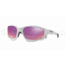 Oakley OO9171 32 RACING JACKET Matte White Prizm Road & Persimmon Vented napszemüveg (OO9171_32)