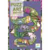DJECO Anakonda művészi puzzle 500 db-os