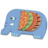 DJECO Moussa elefánt készségfejlesztő fa foglalkoztató