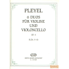 EMB 6 duos für violine und violoncello Op. 4 II.