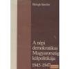 Kossuth A népi demokratikus Magyarország külpolitikája 1945-1947