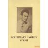 Szolnok Megyei Jogú Város Önkormányzata Szathmáry György versei