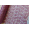 Metál csipke mályva (48 cm x 5 yard)