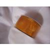 3,8 cm-es organza szalag (10 m) sötét napsárga c091