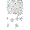 Galamb+szív konfetti gyöngyház (14 gr)