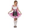 Tiroli, bajor női jelmez rózsaszín M méret (87447-B) jelmez