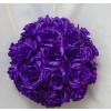 Rózsagömb szatén óriás sötétlila (35 cm)