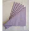 Gyűrűs szalvéta lila (50 db/cs)