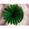 50 cm-es papírtárcsa zöld (2 db/cs)