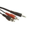Gembird Jack - RCA kábel 20m