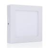 LEDvonal LED panel / 12W / falon kívüli / négyzet / természetes fehér