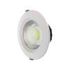 LEDvonal LED panel / mélysugárzó / 20 W / süllyesztett / kerek / meleg fehér