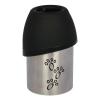 Trixie rozsdamentes acélpalack itatótállal - 300 ml