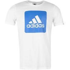 Adidas Box Logo férfi póló