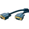 VGA Csatlakozókábel [1x VGA dugó - 1x VGA dugó] 20 m Kék 2560 x 1600 pixel clicktronic