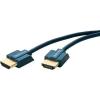 HDMI Csatlakozókábel [1x HDMI dugó - 1x HDMI dugó] 0.50 m Kék 3840 x 2160 pixel clicktronic