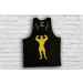 Universal Nutrition Universal Classic Tank Top Black - Yellow