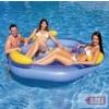 Hasbro Háttámlás felfújható úszósziget közepén lyukkal 3 személyes SSA 030