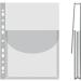 Katalógustartó genotherm, lefűzhető, A4, 170 mikron, víztiszta, 27 mm, DONAU 12 db/csomag