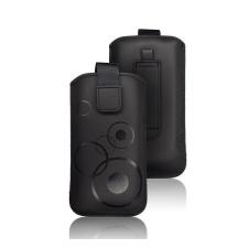Forcell Deko univerzális tok, S (Apple iPhone 4), fekete tok és táska