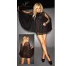 Noir - tündéri csipke ruha (fekete) fantázia ruha