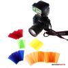 Godox színes szűrők vakukhoz 39*80mm