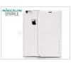 Nillkin Apple iPhone 6 Plus/6S Plus oldalra nyíló flipes tok - Nillkin Sparkle - fehér tok és táska