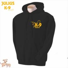 Julius-K9 K9 kapucnis pulóver, fekete - méret: M