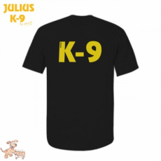 Julius-K9 K9 póló, fekete - méret: L