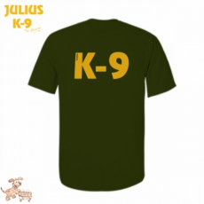 Julius-K9 K9 póló, olajzöld - méret: XL