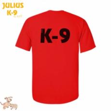 Julius-K9 K9 póló, piros - méret: XXL