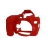 Easy Cover Szilikon Tok EOS 70D, piros