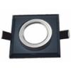 - Olcsó üveg spot lámpatest (1083OSZK), négyzet, fix, fekete
