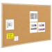 BI-OFFICE Cork Notice Board BI-OFFICE  40x30cm  wood frame 5603750110125