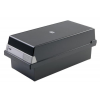 HAN Card Index Box HAN Kartei  covered (with a lid)  polystyrene  A5  black 4012473955141