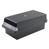 HAN Card Index Box HAN Kartei  covered (with a lid)  polystyrene  A4  black 4012473954144