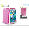 Muvit Apple iPhone 6 Plus/6S Plus hátlap - Muvit miniGel - pink