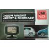 Parkoló aszisztens LCD kijelzős