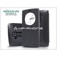 Nillkin LG G4 H815 oldalra nyíló flipes tok - Nillkin Sparkle - fekete tok és táska