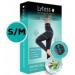LYTESS Slimming Legging S/M alakformáló biokerámia-szálas intelligens ruha, fekete 1 db