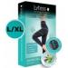 LYTESS Slimming Legging L/XL alakformáló biokerámia-szálas intelligens ruha, fekete 1 db
