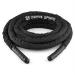 Capital Sports Corope, fekete, 9 m, erősítő kötél, poliészter
