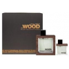 Dsquared2 He Wood Rocky Mountain Wood szett I. (50ml eau de toilette + 100ml tusfürdő), edt férfi