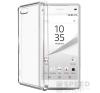 utángyártott Sony Xperia Z5 Compact Ultra Slim 0.3 mm szilikon hátlap tok, átlátszó tok és táska