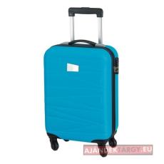 Padua gurulós utazó bőrönd, türkiz
