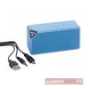 Cuboid bluetooth hangszóró, kék