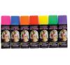 Hajszínező spray fluoreszkáló színekben (Narancssárga) party kellék