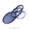 cirk. polárszűrő High Transmission Käsemann - MRC nano felületkez. - XS-pro fogl. - 55 mm